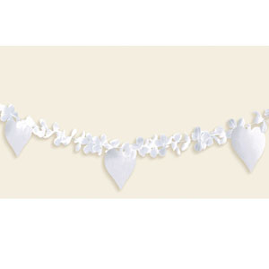 Flowers & Hearts Garlands- 15ft