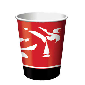 Black Belt 9 oz. Cups- 8ct