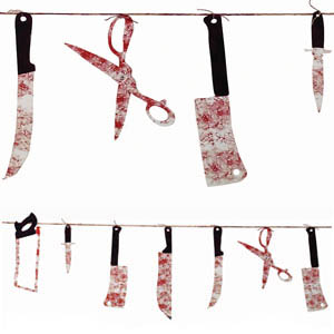 Chop Shop Weapon Garland- 7ft