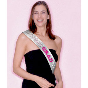 Princess Grad Sash- 30in