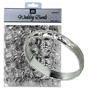 Wedding Bands - Silver 288ct