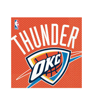 Oklahoma City Thunder Luncheon Napkins