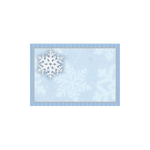 Holiday Shimmer Name Tags- 50ct
