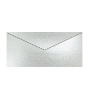 Metallic Silver Envelopes- 25ct