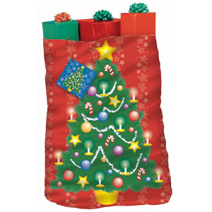 Christmas Tree Giant Gift Sack- 44 Inch