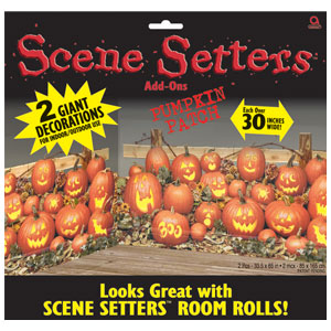Pumpkin Patch Scene Setter- 2ct