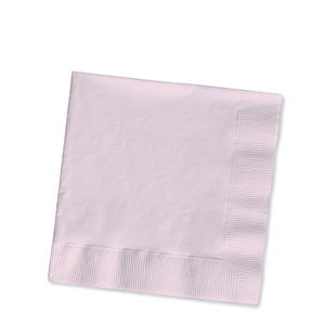 Baby Pink Luncheon Napkins