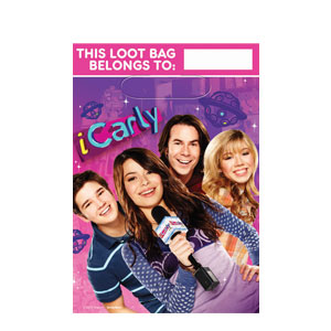 iCarly Folded Loot Bags- 8ct
