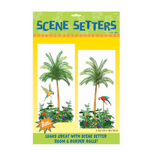 Palm Tree Scene Setters- 2pc