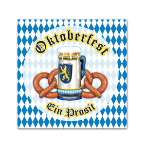 Oktoberfest Luncheon Napkins - 16ct