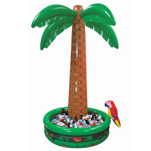 Inflatable Jumbo Palm Tree Cooler - 4ft
