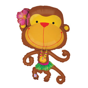 Linky Monkey Shape Balloon- 39in