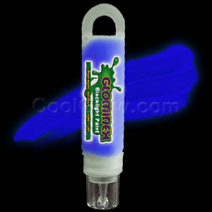 Glominex Blacklight UV Reactive Paint 1 oz Tube - Blue