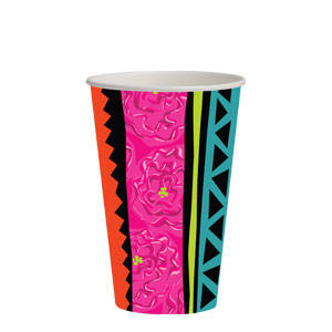 Caliente 12 oz. Cups- 8ct