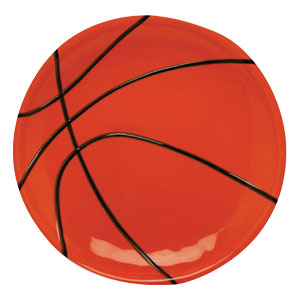 Basketball 10 Inch Tray