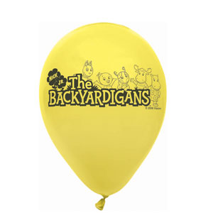 Backyardigans Latex Balloons- 6ct