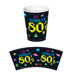 Retro Arcade Cups - 8ct
