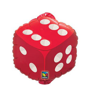 Dice Shape Balloon - 18in