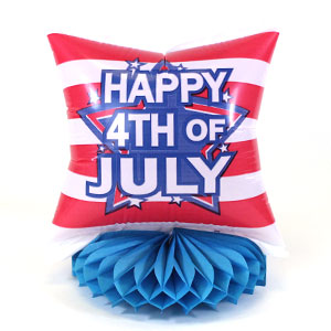 Inflatable Honeycomb Centerpiece - 4th of July