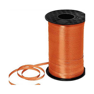 Orange Curling Ribbon- 500yds