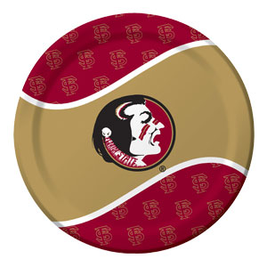 Florida State 9 Inch Plates