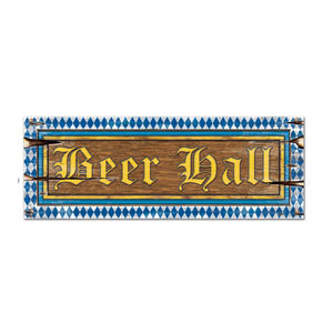 Beer Hall Sign - 22in