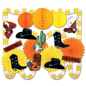 Western Decorating Kit- 21pc