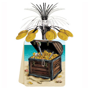 Pirate Treasure Centerpiece - 13in