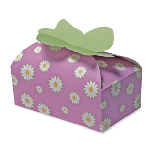 Spring Flowers Candy Cookies Box