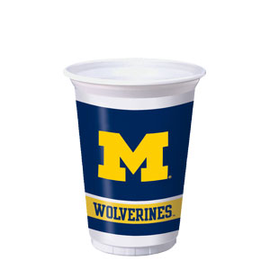 Michigan 20 oz. Cups