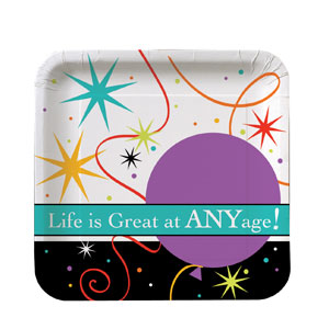 Life is Great Luncheon Plates - 8ct