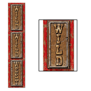 Jointed Wild Wild West Pull-Down Cutout- 6ft