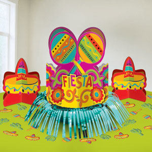 Fiesta Table Decorating Kit- 23pc