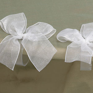 Bow Table Clips- 4ct