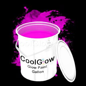 Glominex™ Glow Paint Gallon Pink