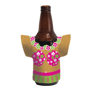 Hula Girl Drink Holders
