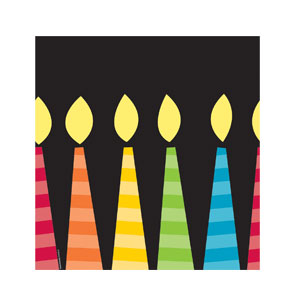 Candles Tablecover - 108in
