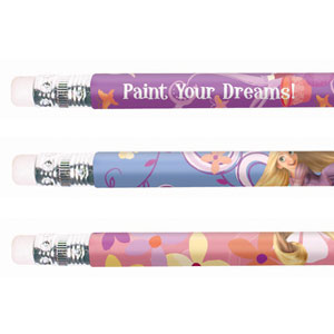 Disney Tangled Pencils- 12ct