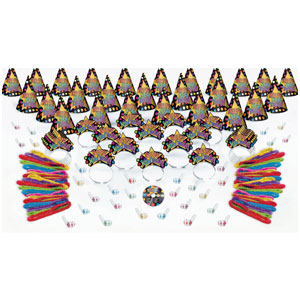 Dance Party New Years Party Kit with CD for 50- 151pc
