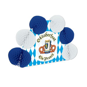 Oktoberfest Pop-Over Centerpiece - 10in