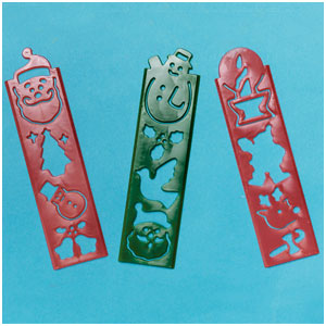 Christmas Tracing Strips- 12ct