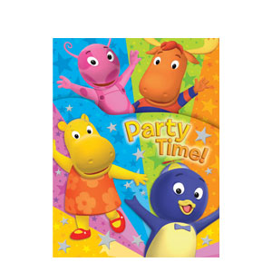 Backyardigans Invitations- 8ct