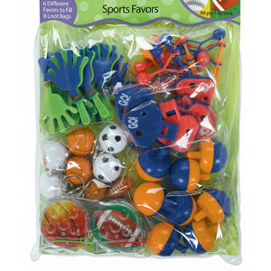 Multi-Sport Favor Pack- 48pc