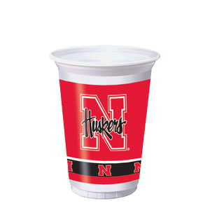 Nebraska 20 oz. Cups