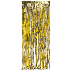 Gold Foil Door Curtain- 8ft