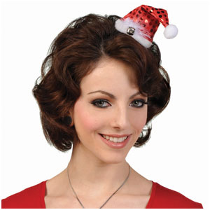 Clip-on Mini Santa Hat- 4 Inch