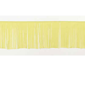 Yellow Fringe Banner