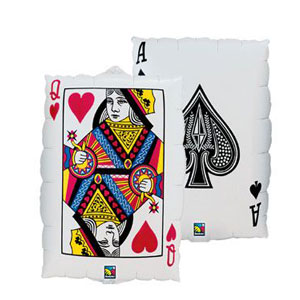 Playing Cards Balloon - 30in