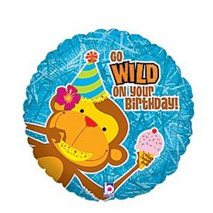 Have A Wild Birthday Balloon- 18in
