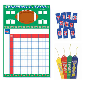 Football Pool with Ribbons- 27in